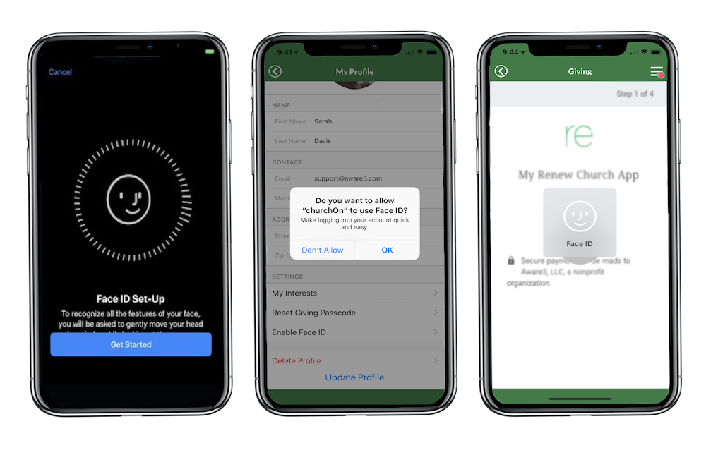 What's new at aware3: Face ID