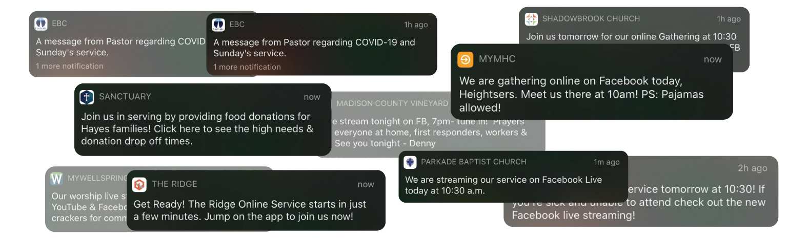 Go virtual with confidence. How to quickly bring your virtual church to life in the midst of coronavirus.